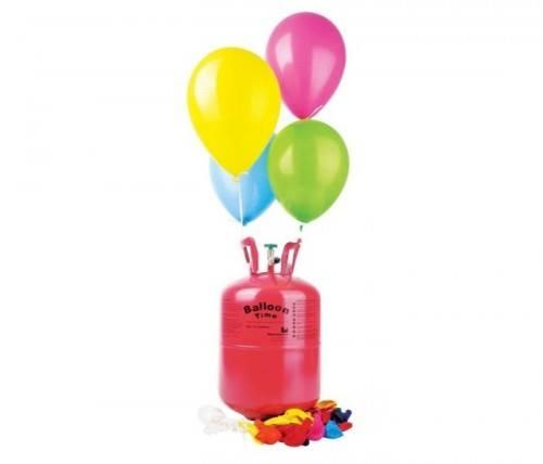 Napełnianie balonów helem