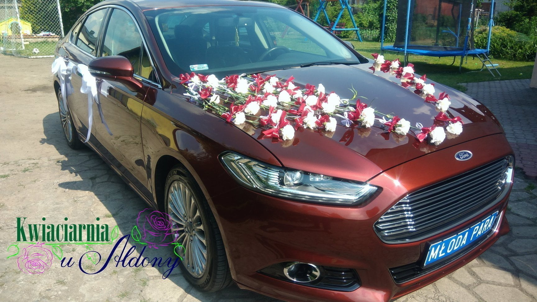 Ford Mondeo Mk5 - auto do ślubu