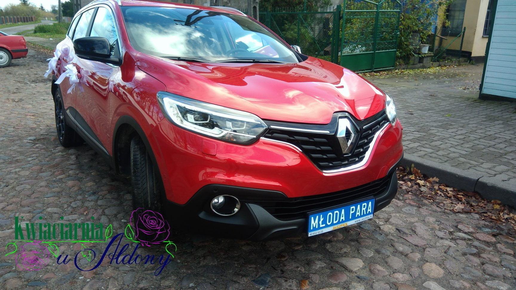 Renault Kadjar - auto do ślubu